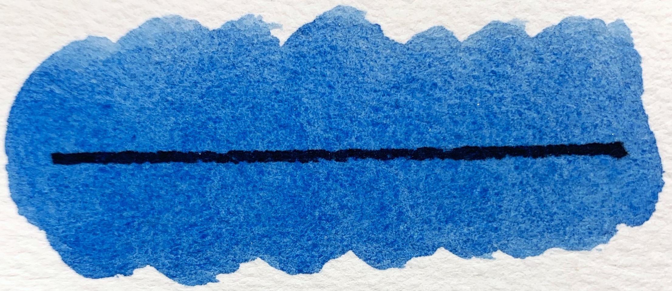 Blue Dusk - PB15, semitransparent, good lightfastness, staining