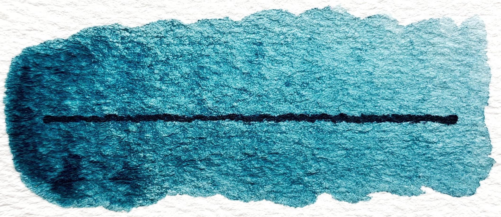 Mayan Indigo Blue - Transparent, good lightfastness, mildly staining
