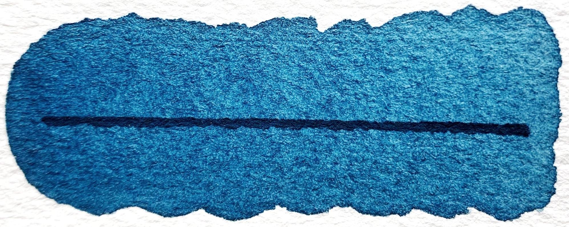 Mayan Royal Blue - PB82, semitransparent, good lightfastness, mildly staining