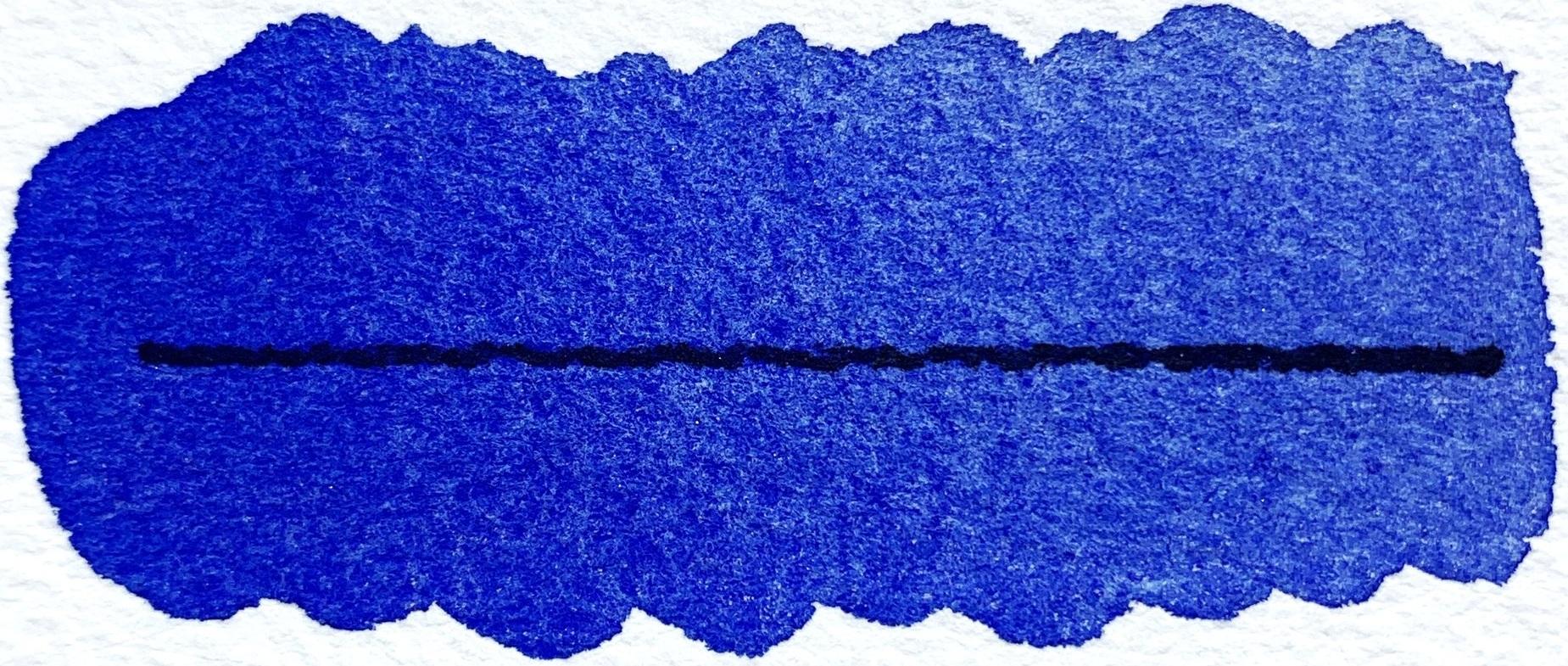 Ultramarine Blue - PB29, semitransparent, excellent lightfastness, staining