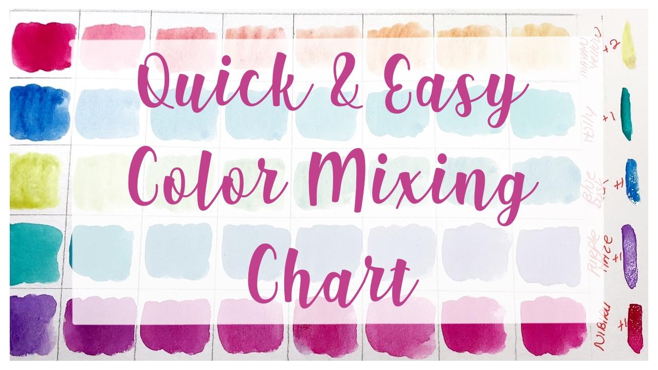 Color Mixing Chart II