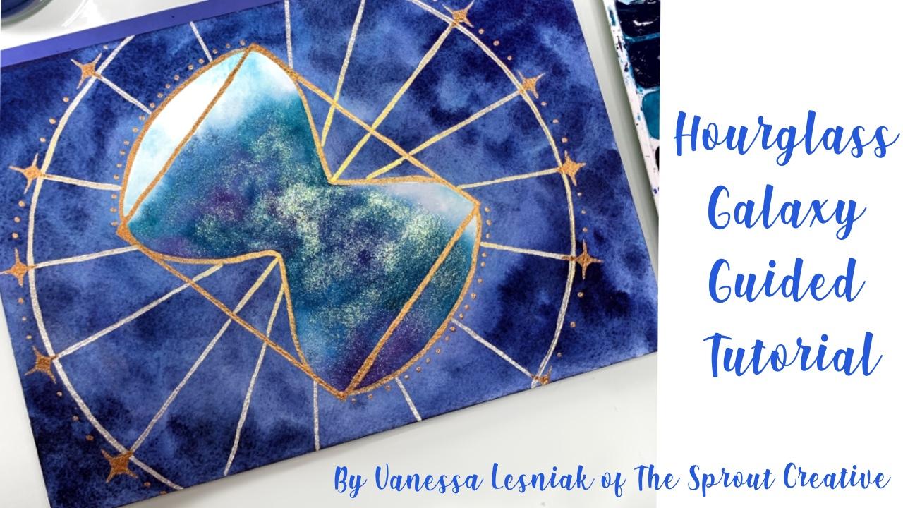 Hourglass galaxy
