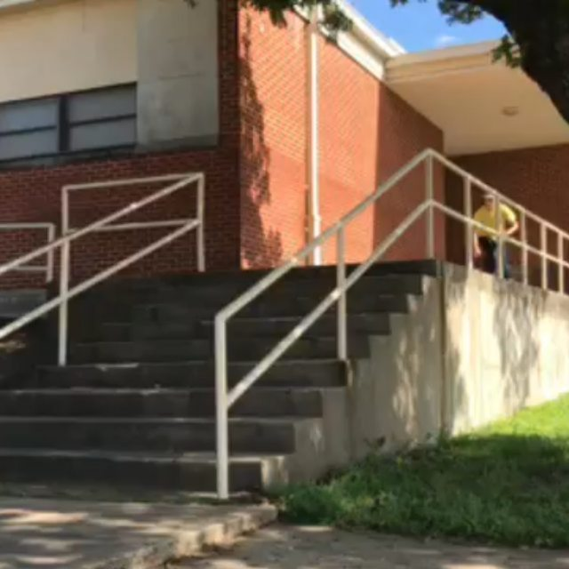 Just a casual 9 stair feeble and crook courtesy of ya boy @tincanster.  #KeepItCasual