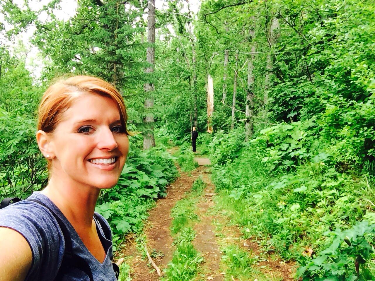 Heather selfie