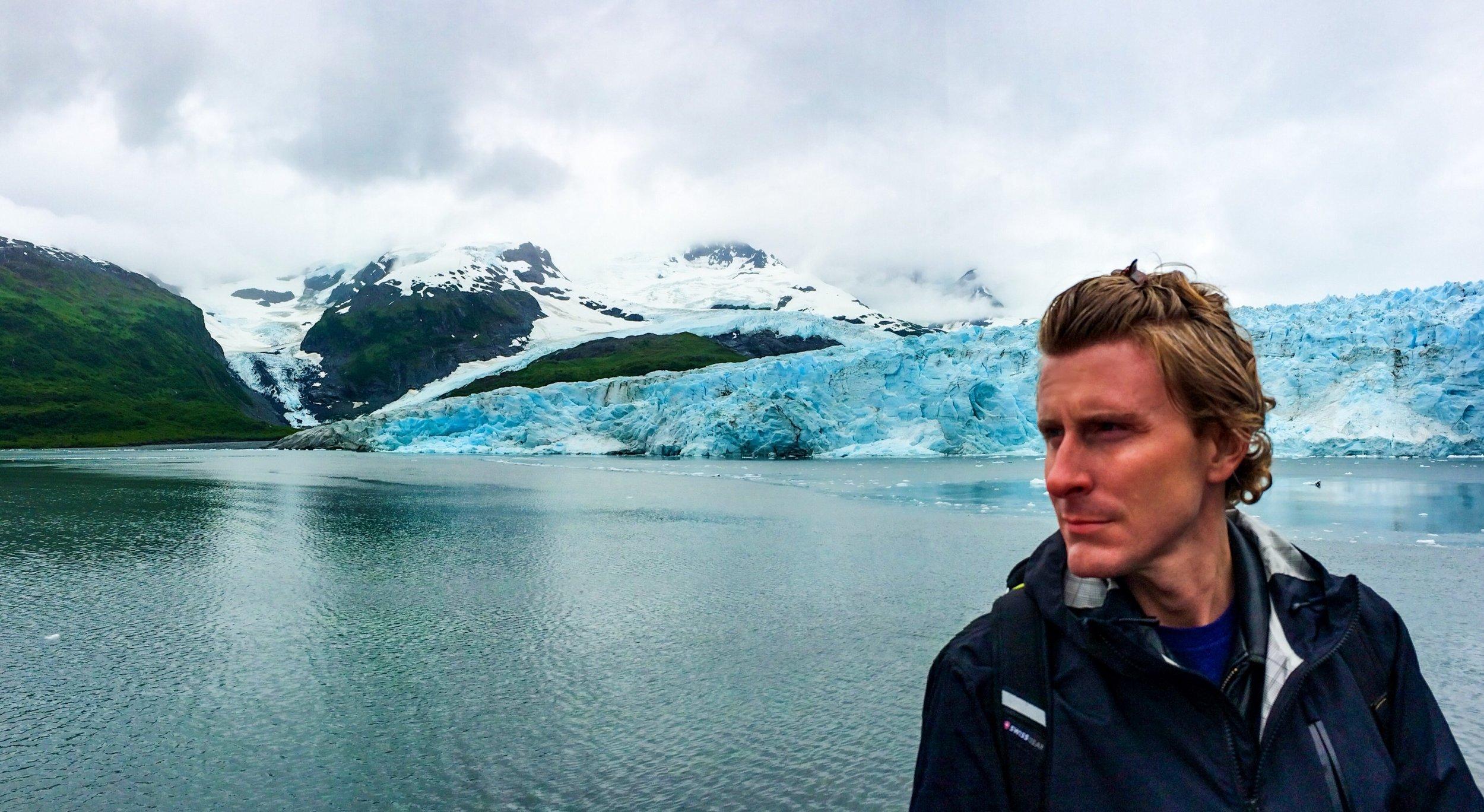 Hair growing, glacier melting