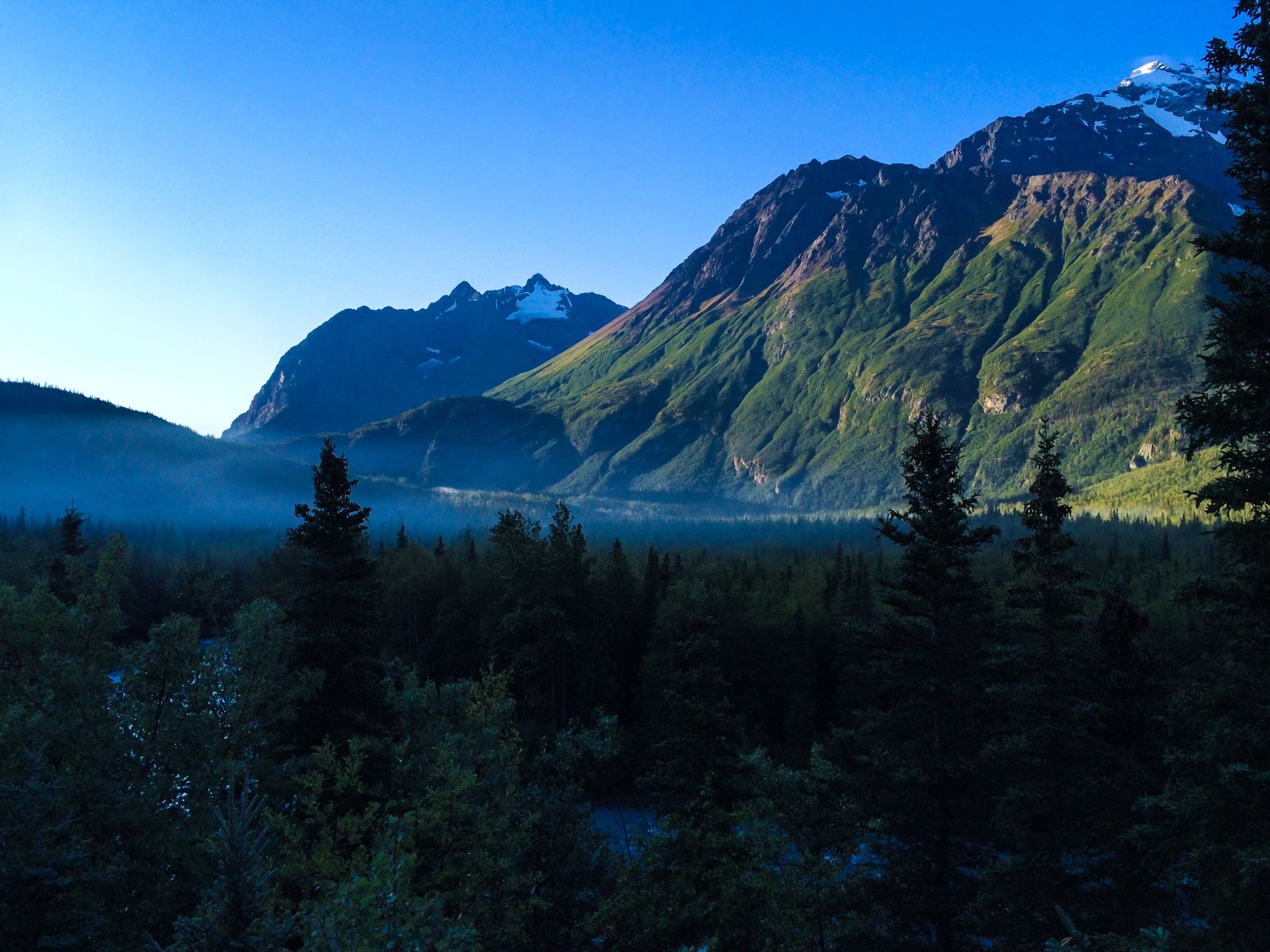 another epic morning and alaskan landscape