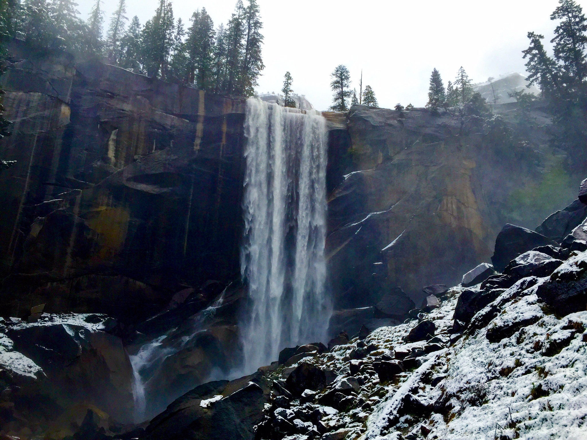 vernal fall, i have stood her nearly a dozen times
