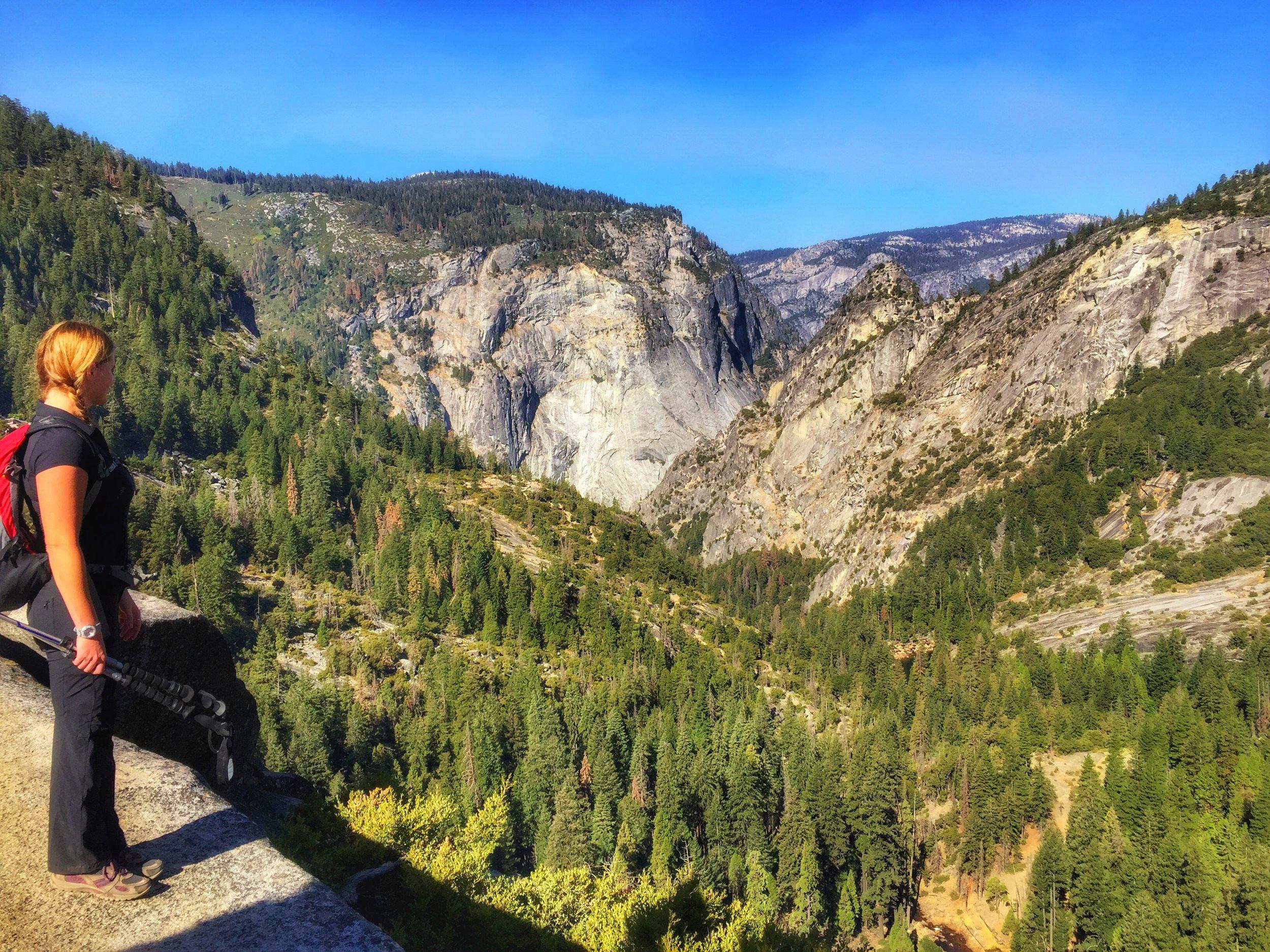 deciding where to hike off too next