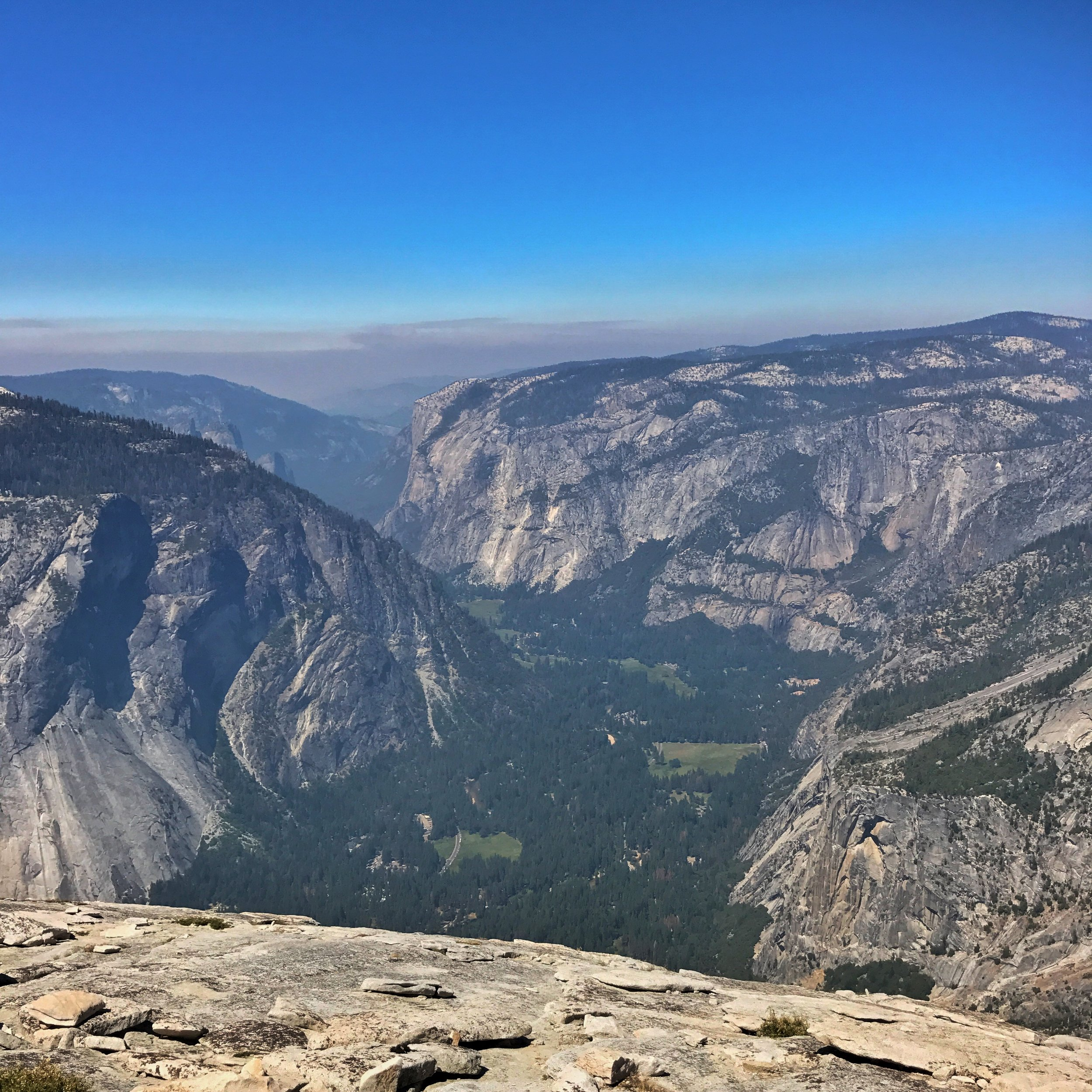 the smoke obscured valley