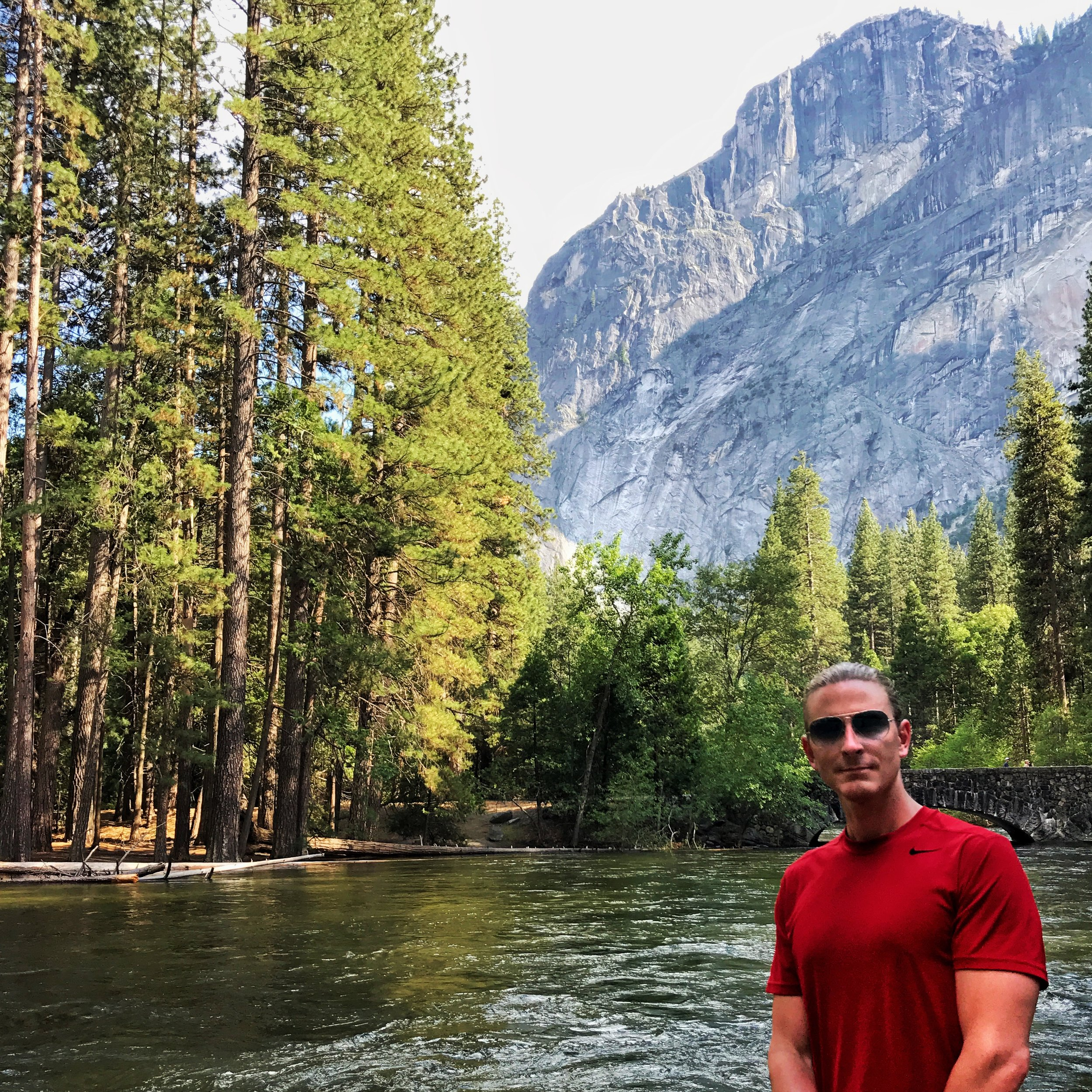 Hanging out by the merced river