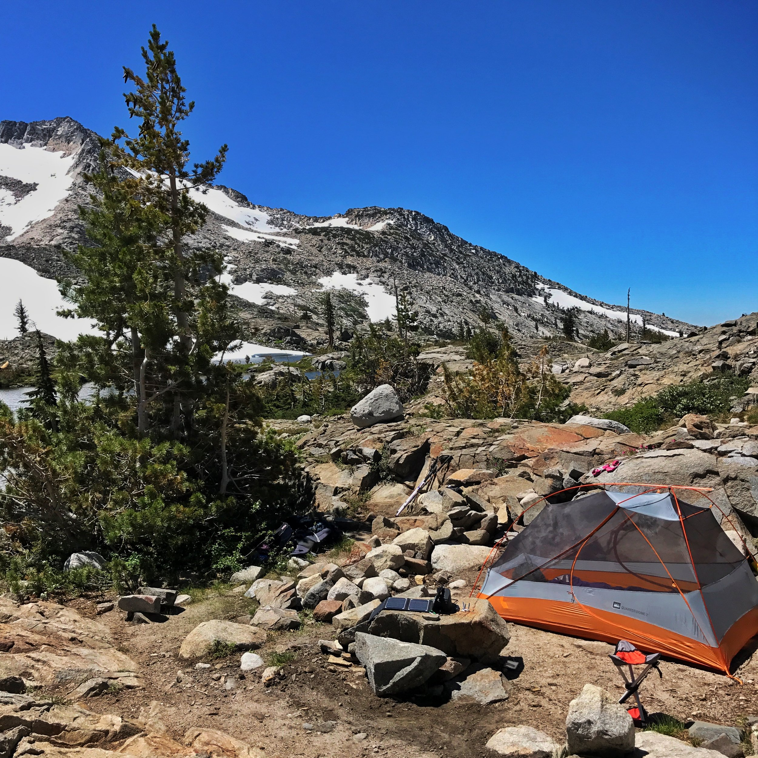 best campsite we could find. Perfect