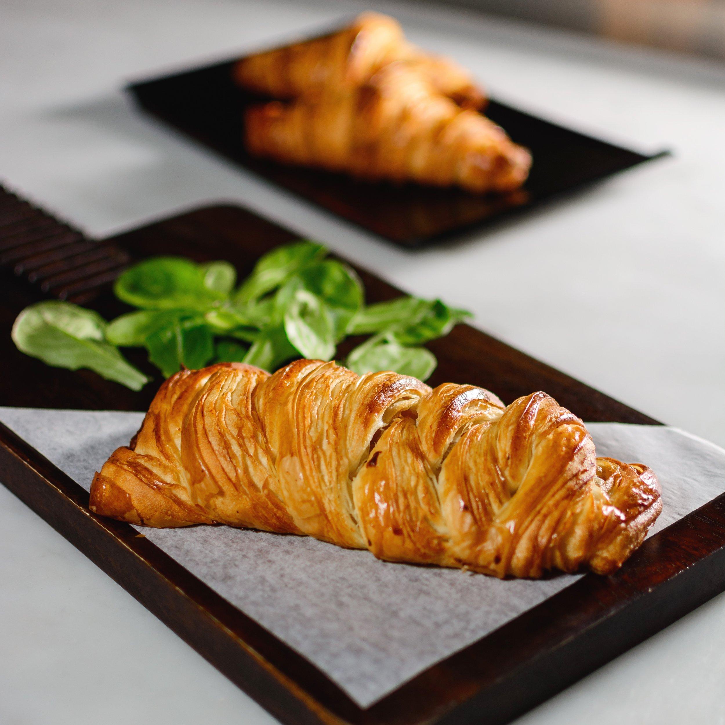 Spinach Feta Croissant -