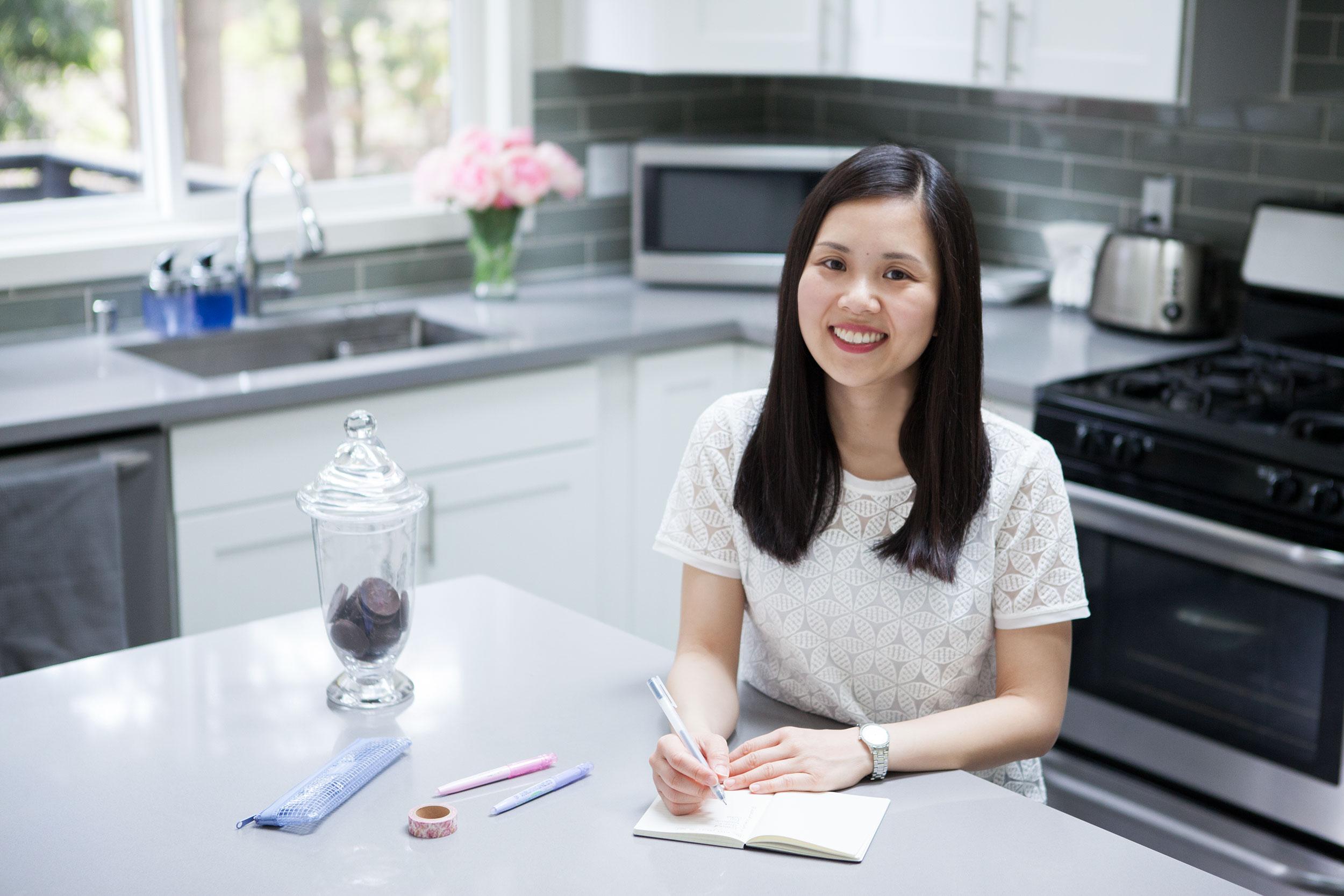 Seattle professional organizer Lilian Chiu of Peony Professional Organizing