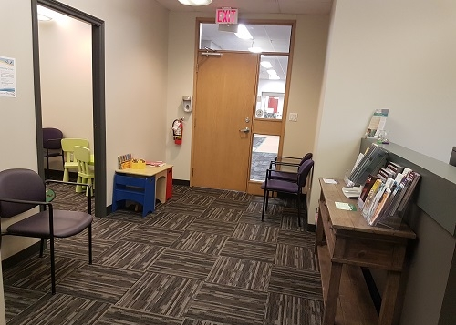 Front Entrance & Waiting Area