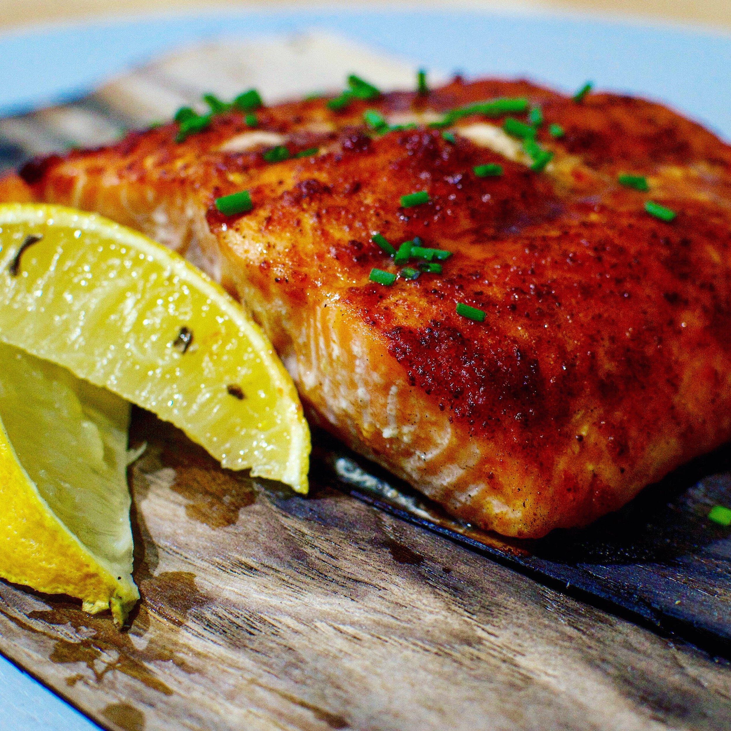 BarbecueMafia Grilled Salmon