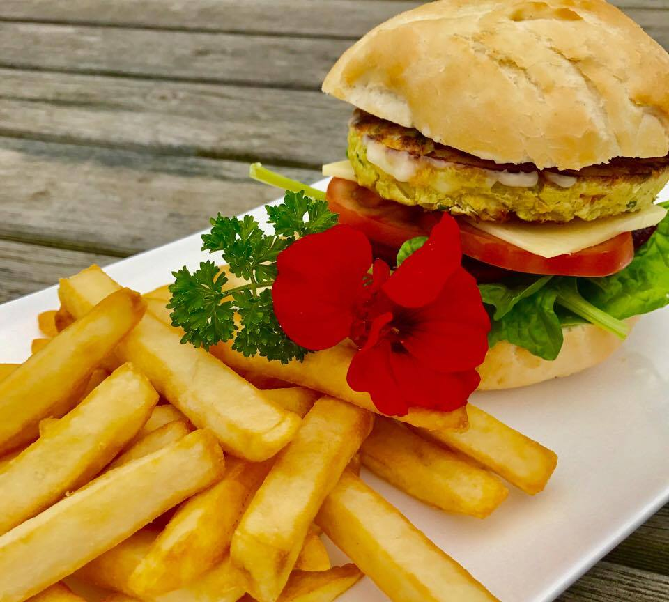 Vegetarian Burgers and Meals