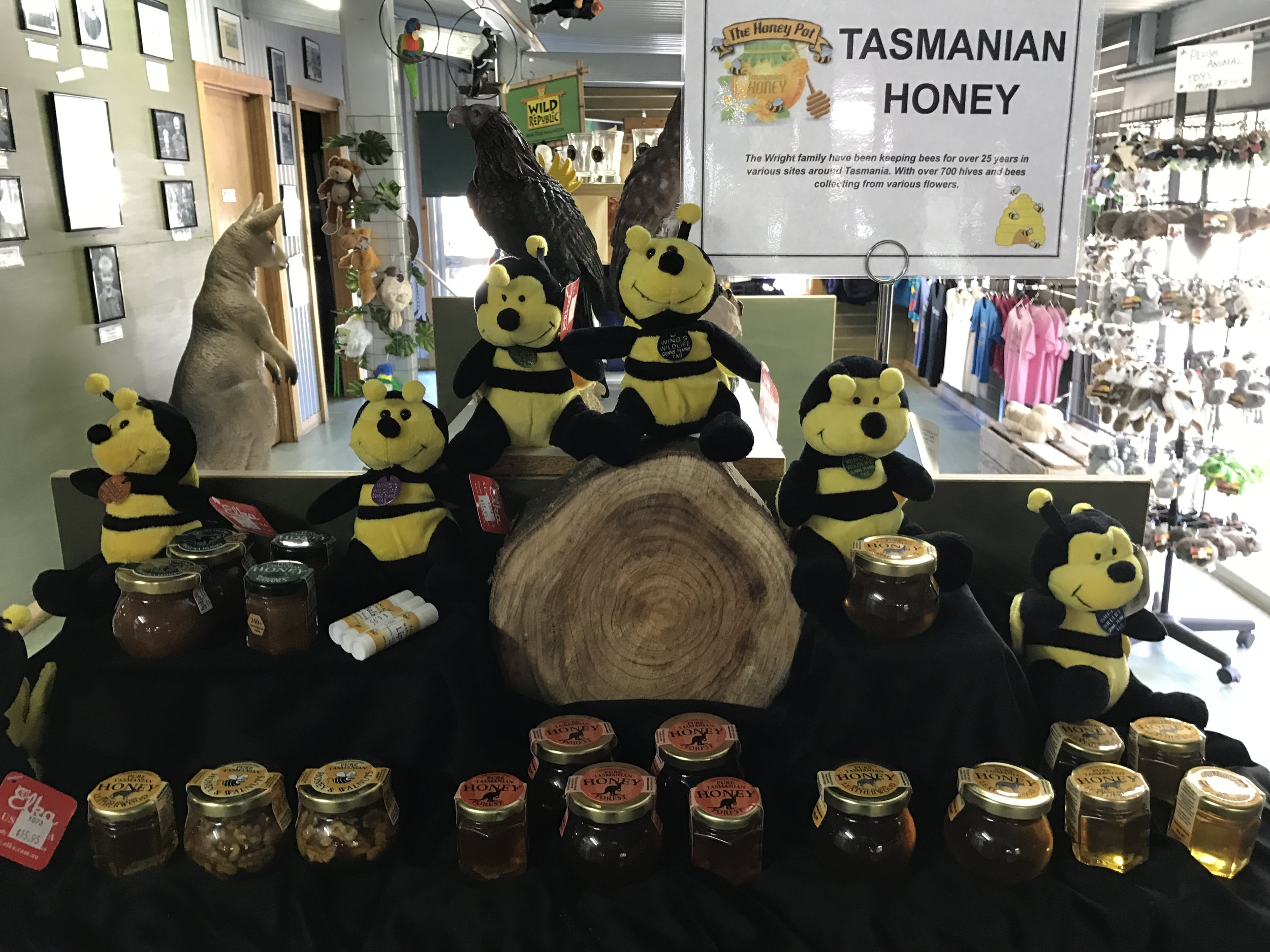 Tasmanian Honey Display.JPG