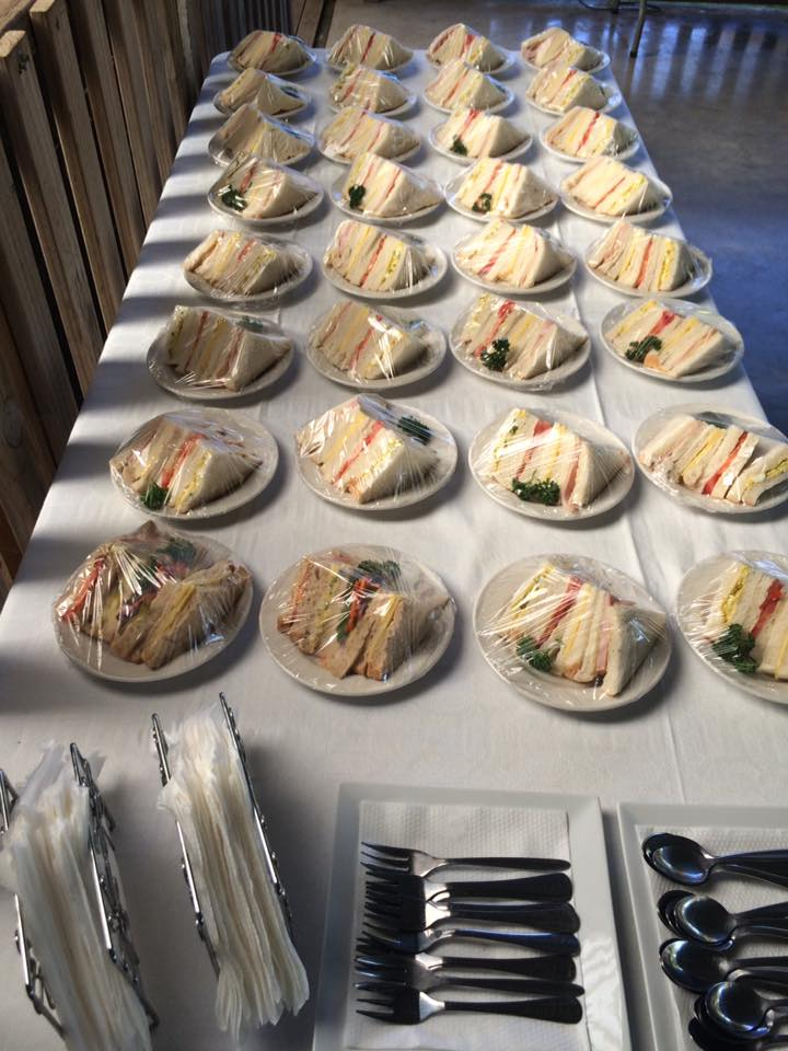 Coach group catering