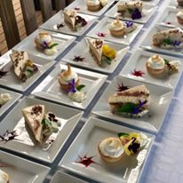 Dessert selection by our chefs