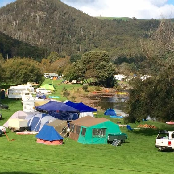 Camping and Powered Sites -