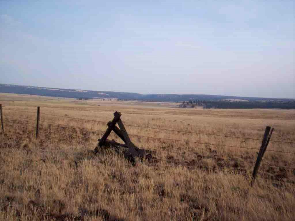 Wyoming ranchland