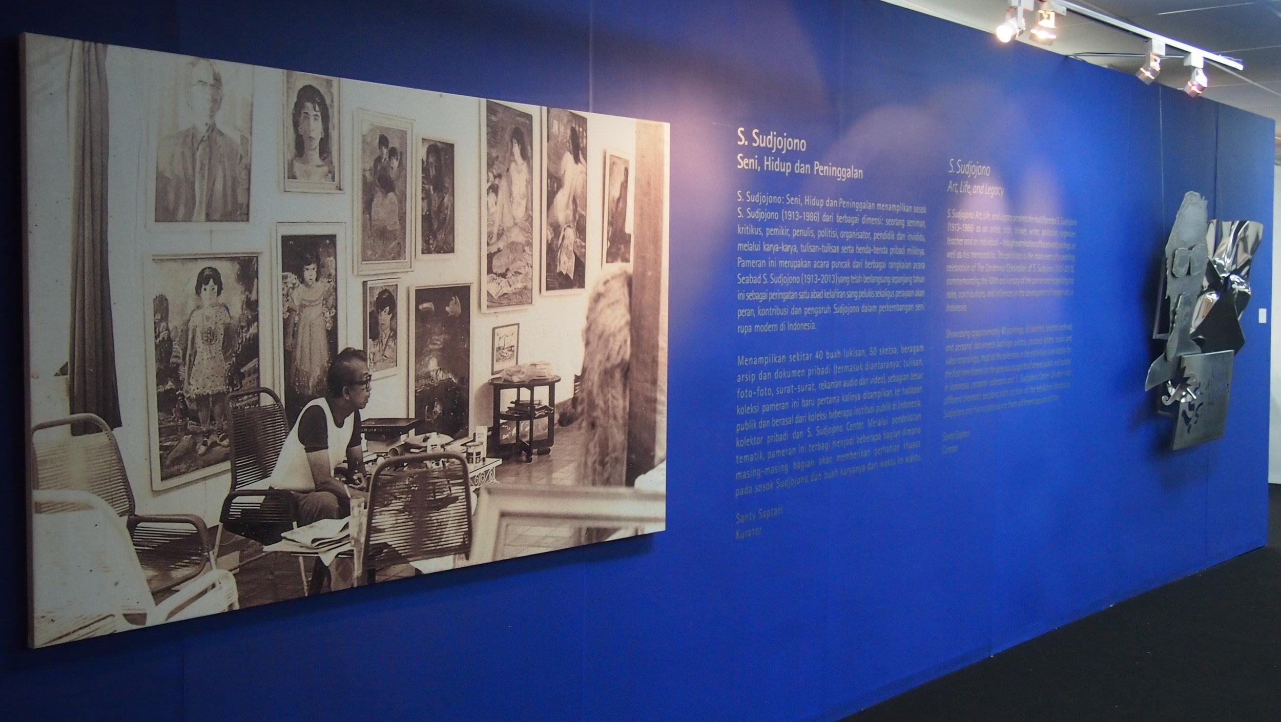 1_Centennary Exhibition of S. Sudjojono, Jakarta, 2013.JPG