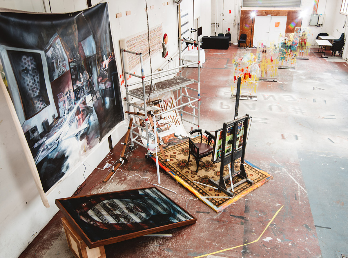 8_Shout! Indonesian Contemporary Art, Meat Market Stables, Melbourne, 2015.jpg