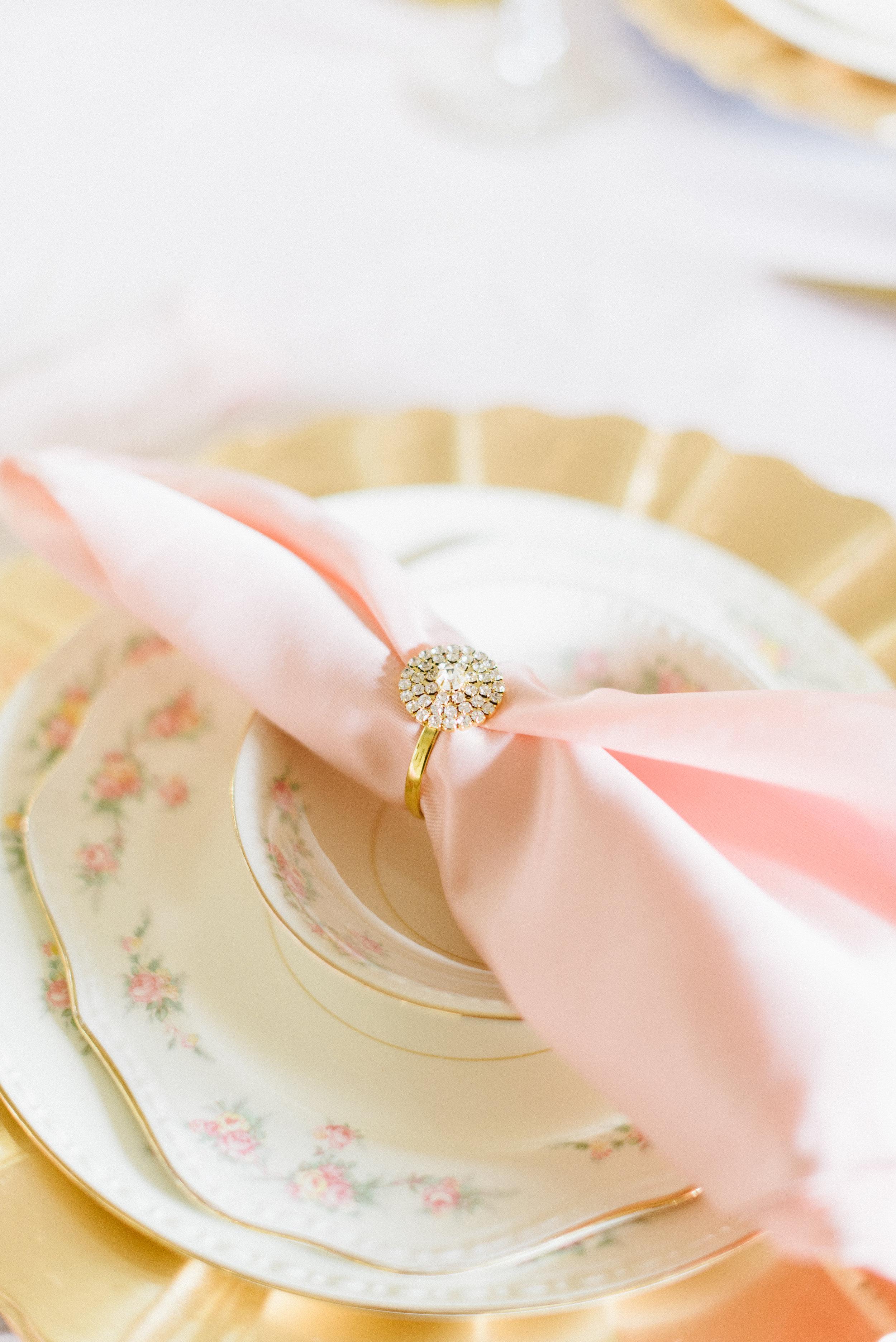 Blush Silk Napkin