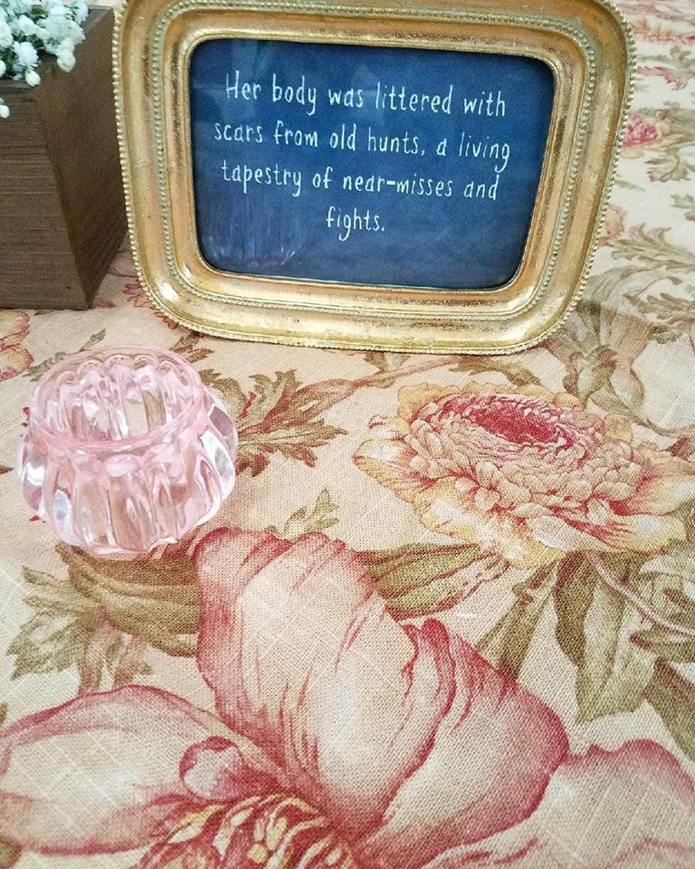 Antique Floral Overlay