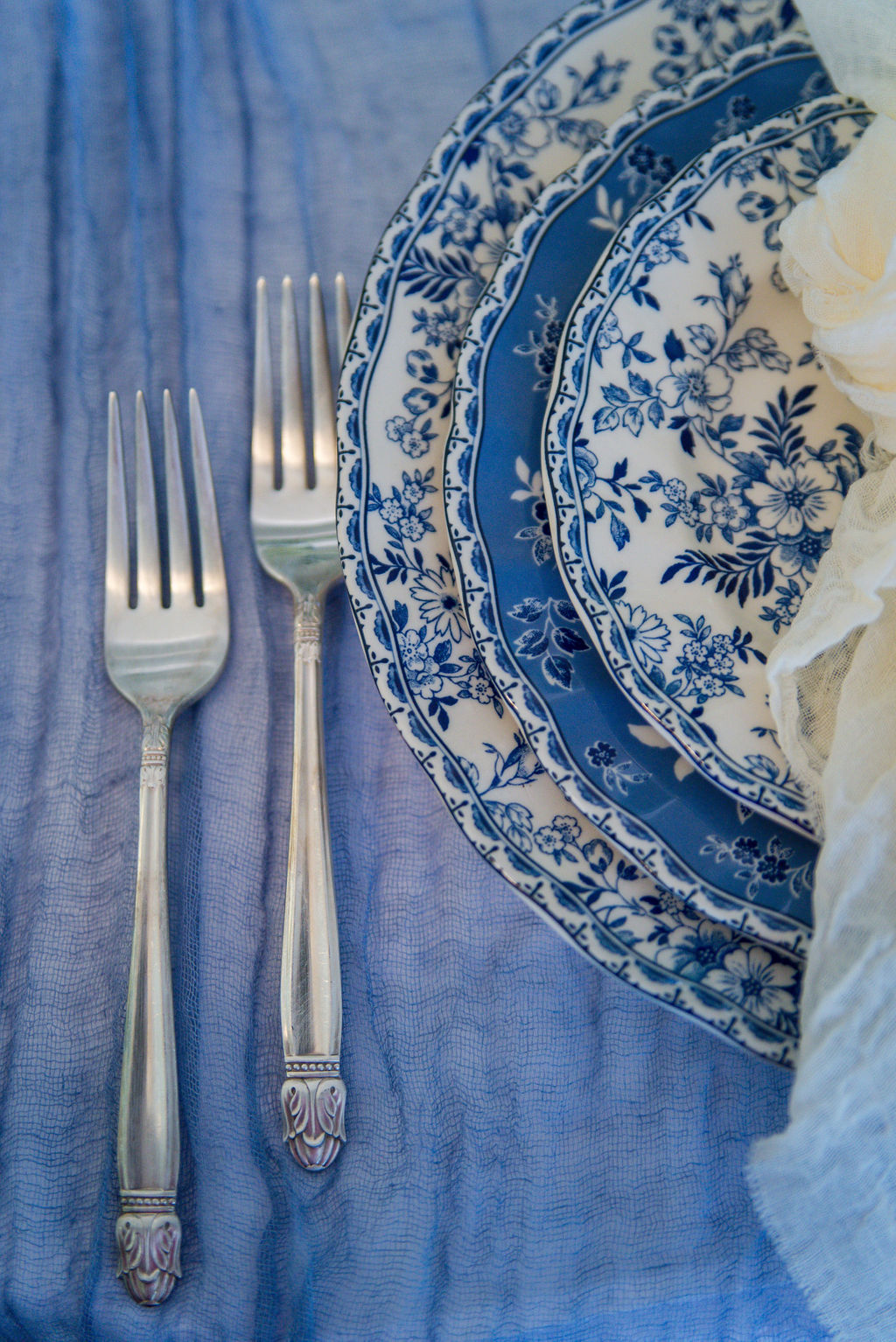 Mismatched Blue & White - Price same as Pinks