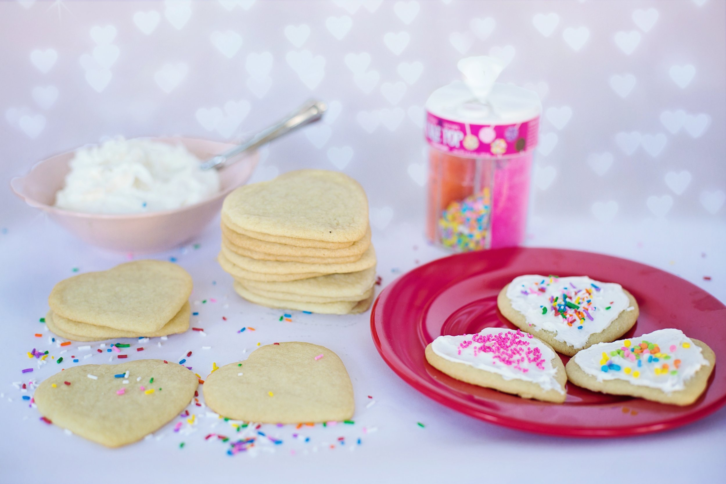 These cookies are simple and sweet. Don't stress out about it. Have fun making these and enjoy them with your family.