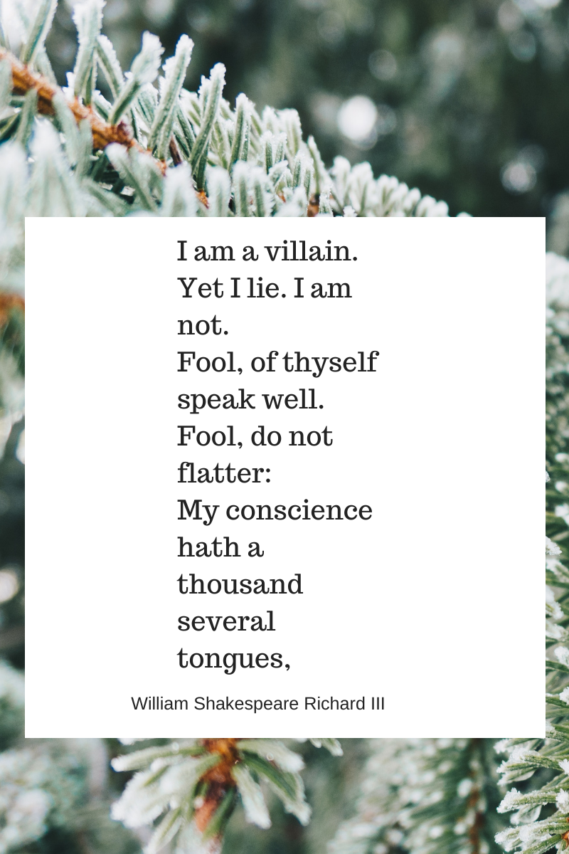 winter, trees, shakespeare quote