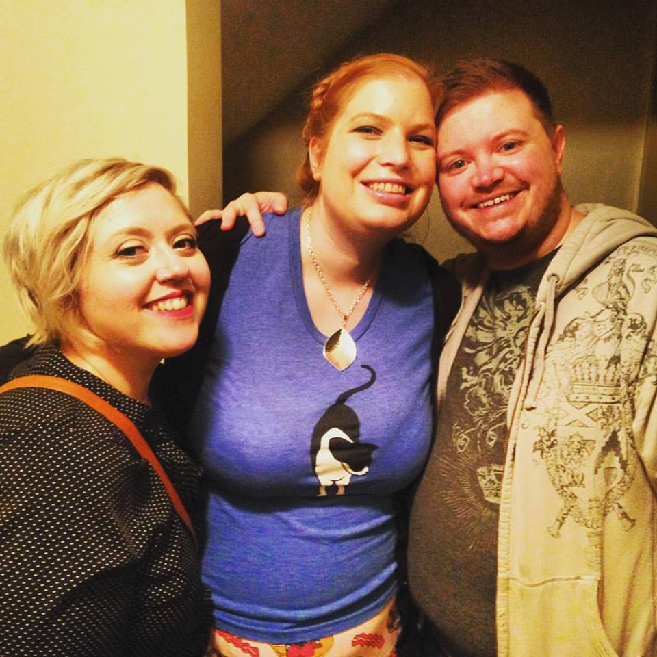 My best friend Emily, me, and Elliott at his house after one of his wonderful parties. He is one of my favorite people and truly one of my inspirations as a host.