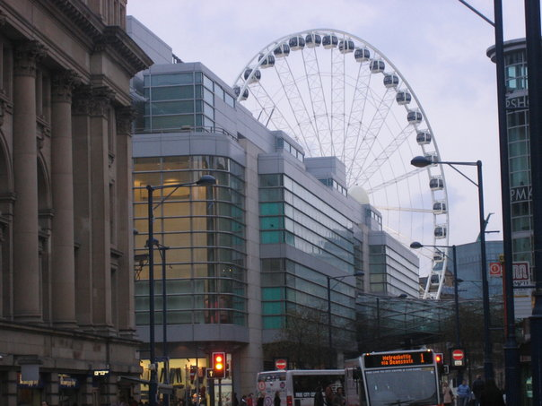 I took this picture when I was in Manchester in 2006. I loved the food, people, and atmosphere. British food is abysmal but you could get a bunch of great halal and asian food up there. It was one of my favorite places to escape.