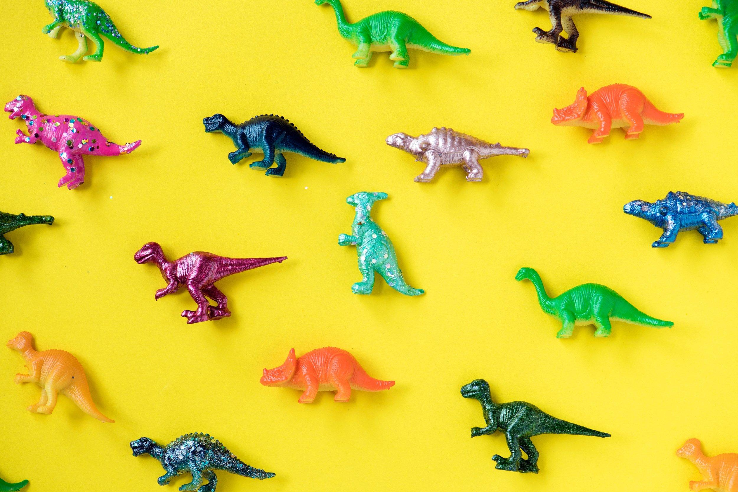 dinosaurs, toys