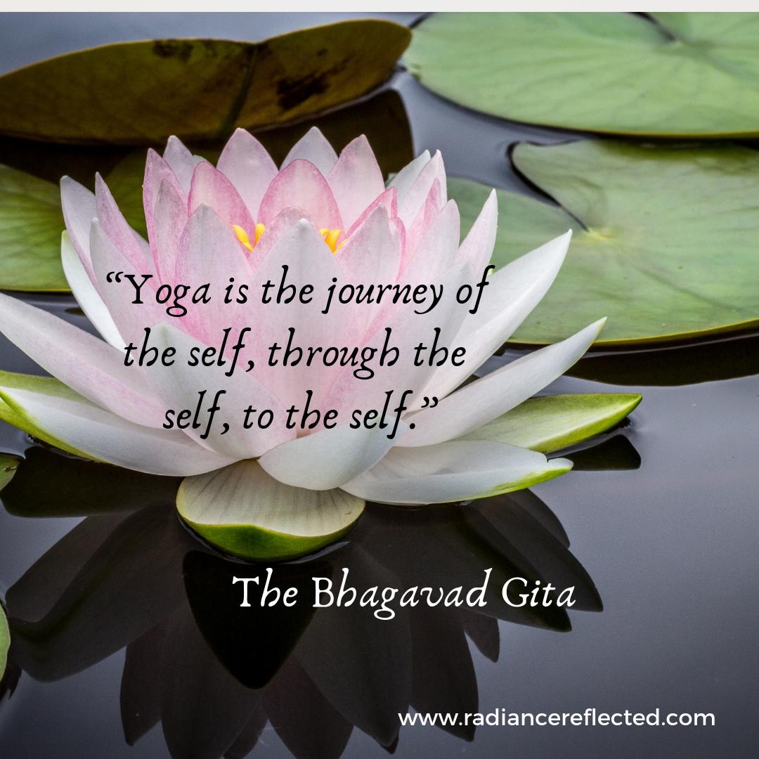 lotus, yoga, Bhagavad Gita