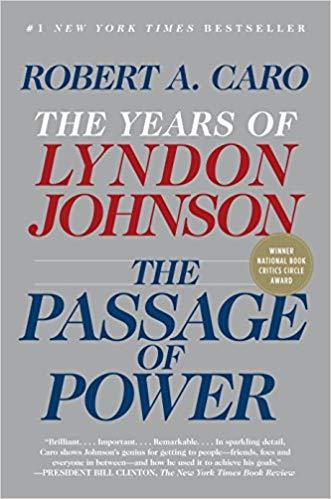 Robert A. Caro, LBJ, Passage of Power, Book,