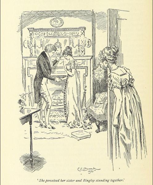 Bingley and Jane, Pride and Prejudice
