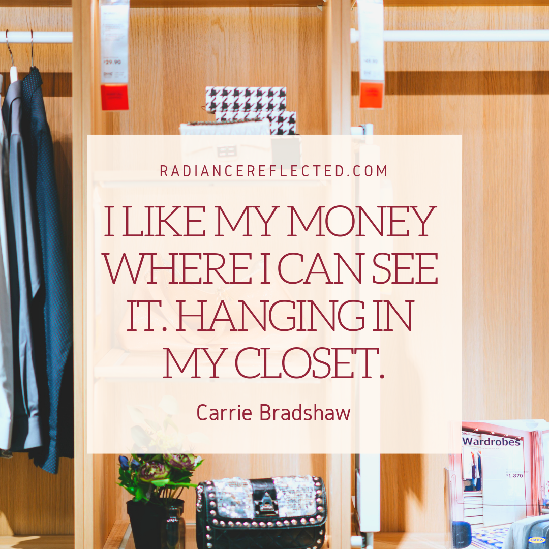 Carrie Bradshaw, sex and the city, shopping
