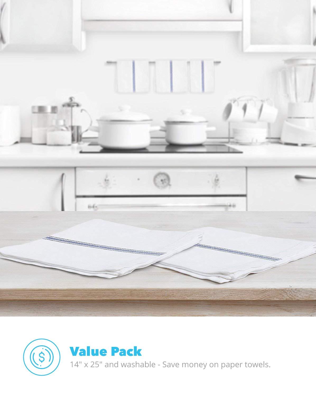kitchen, white, kitchen towels
