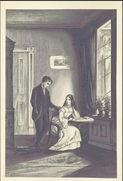 Jane Austen, Mansfield Park, Edmund and Fanny