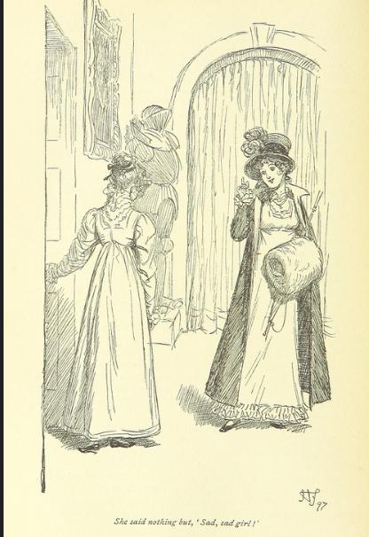 Miss Crawford, Fanny Price, Mansfield Park, Jane Austen