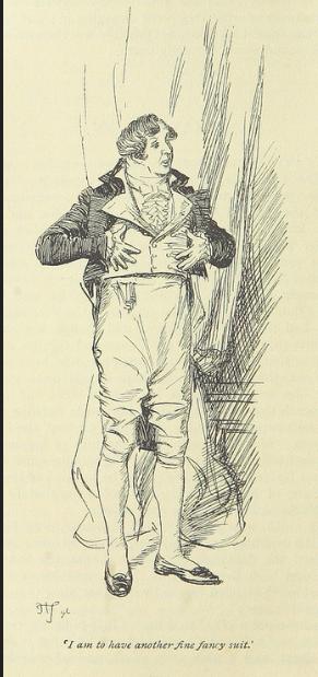 Mr. Rushford, Mansfield Park, A Young Man Ranting, Jane Austen