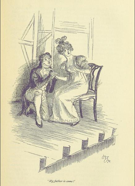 Miss Bertram, Mr. Crawford, Mansfield Park, Jane Austen