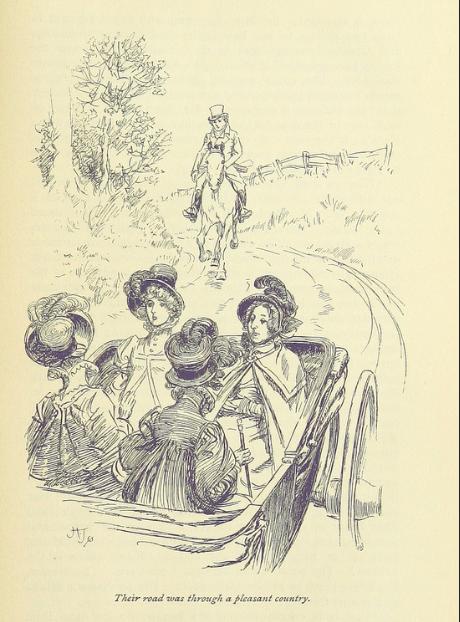 Barouche, Edmund, Mansfield Park, Jane Austen