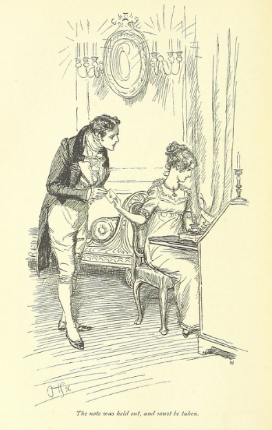 Mr. Crawford, Fanny Price, Jane Austen, Mansfield Park