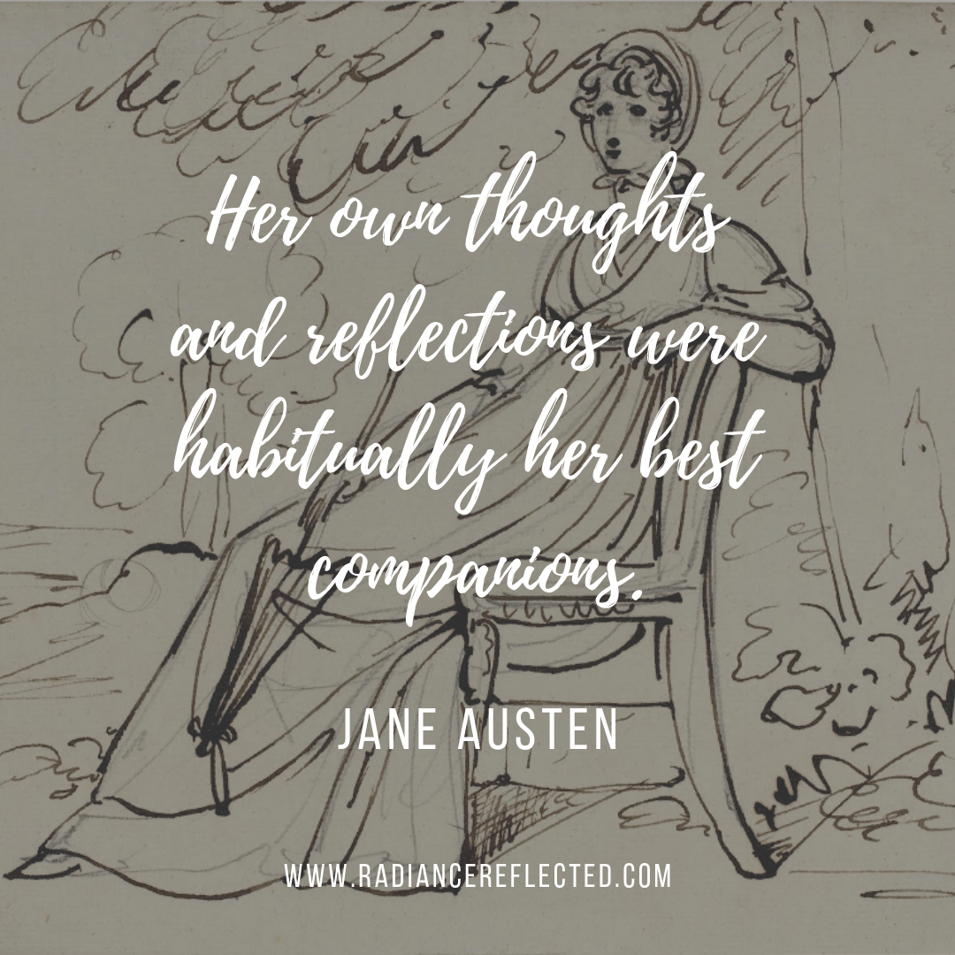 her own thoughts, jane austen, mansfield park