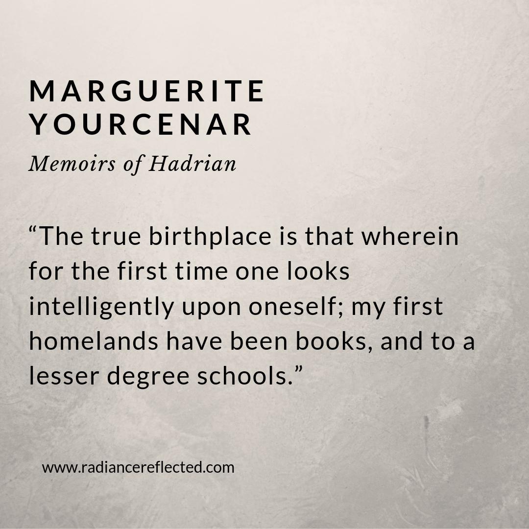 Hadrian, Marguerite Yourcenar
