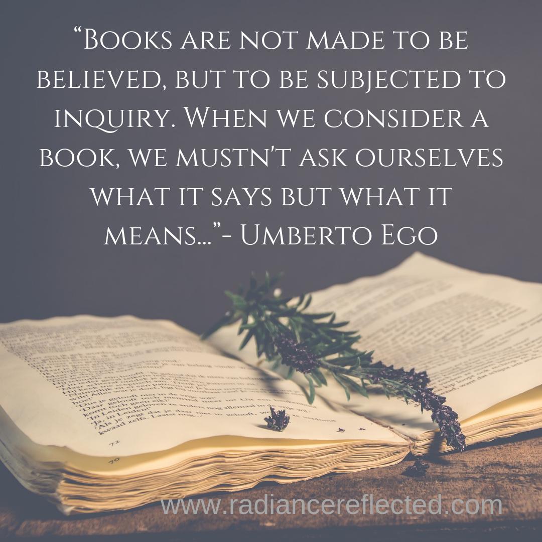 Umberto Eco, Reading, books, theory