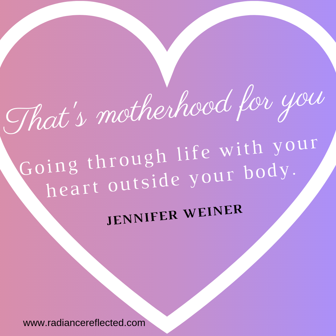 motherhood, jennifer weiner, heart